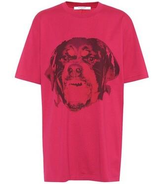 t-shirt shirt cotton t-shirt cotton pink top