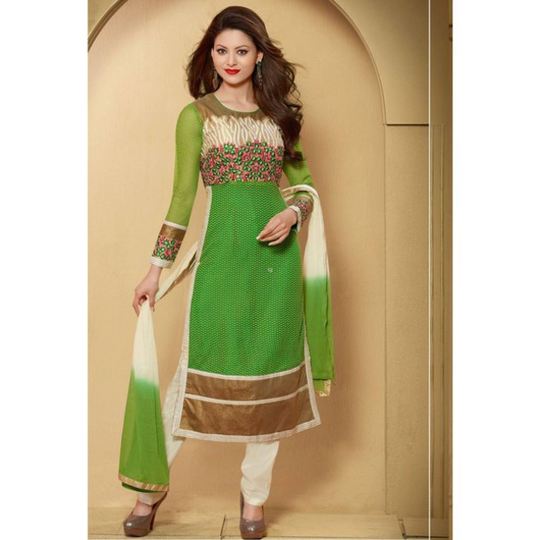 Simple Churidar Indian Dress Collection For Women 9  Latest Bridal Dresses