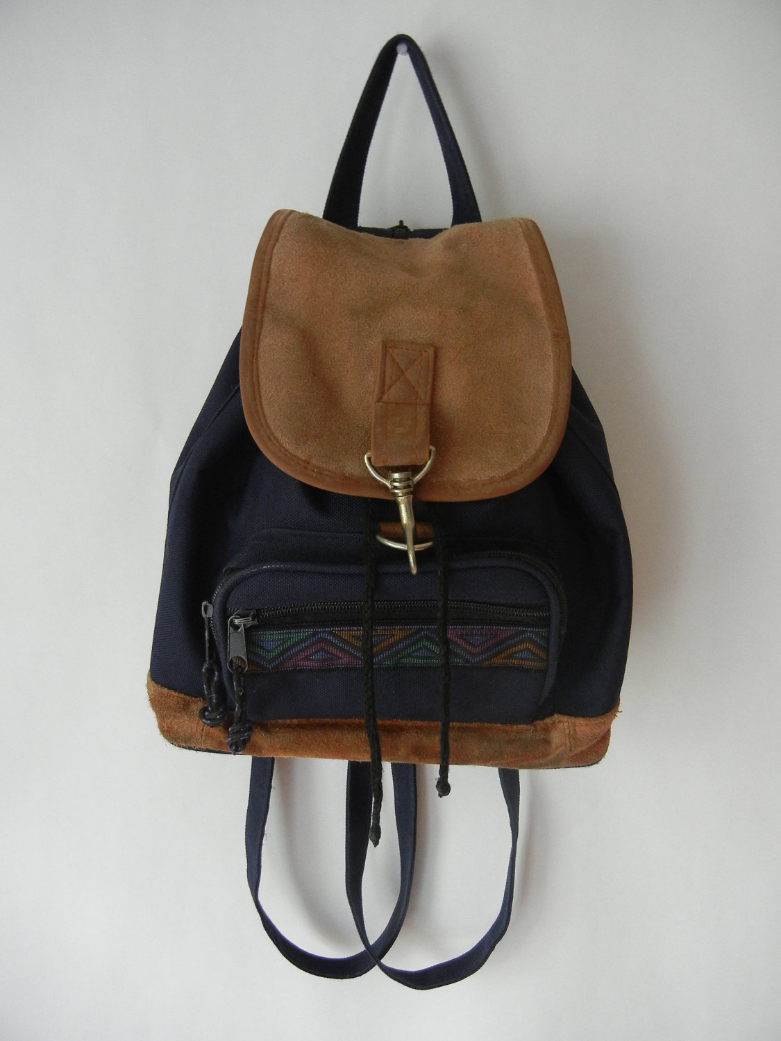 Vintage 90 s Southwestern Mini Backpack 4f89053a2adf9