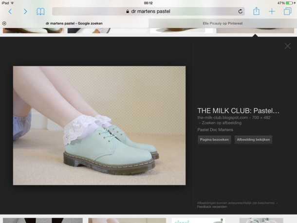 shoes mint green docter martens