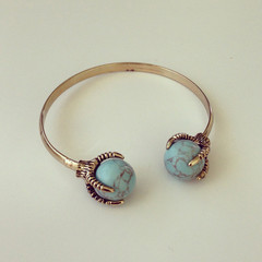 Dragon Turquoise Bangle