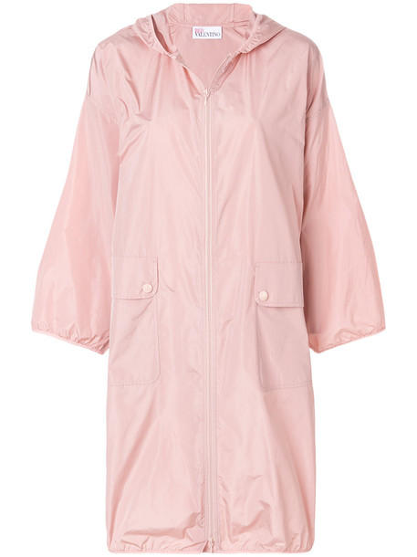 RED VALENTINO parka women purple pink coat