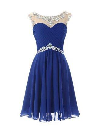 dress short prom dress short bridesmaid dress prom dress bridesmaid party dress royal prom dress