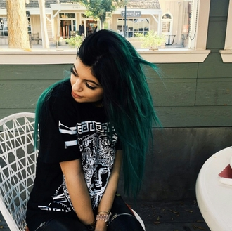 t-shirt versace kylie jenner dope trendy