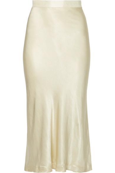 5d9c7edbbf By Malene Birger - Kimberley satin midi skirt