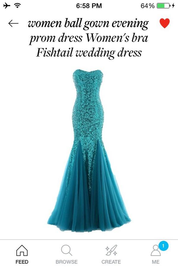 High neck prom dress 2014