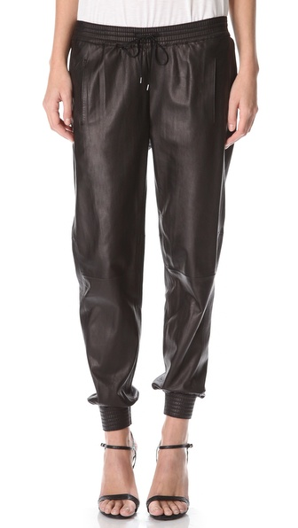 Original 1000 Images About Leather Jogging Pants On Pinterest  Christina