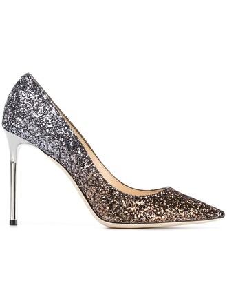 100 pumps metallic shoes