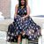 The Ultimate Patterned Maxi Dress - C's Evolution of Style