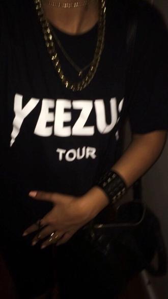 t-shirt yeezus tour kanye west yeezus t shirt kanye west