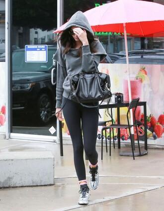 sneakers hoodie kendall jenner leggings sweater