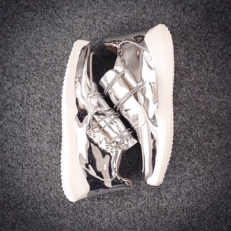 shoes silver silver shoes kanye west yeezus air yeezy 2 yeezy yeezy adidas silver sneakers patent shoes