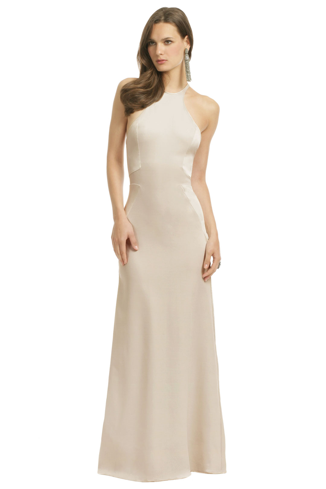 Halston Heritage Cold As Ice Gown