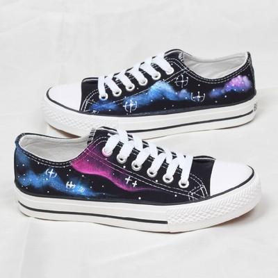 Harajuku sky canvas shoes · cute harajuku {street fashion} · online store powered by storenvy
