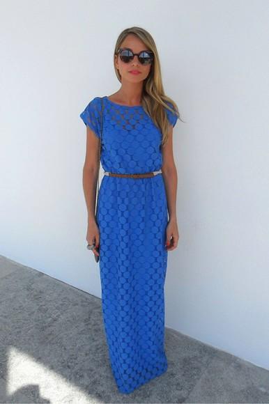 mesh dress blue dress blue gorgeous spot