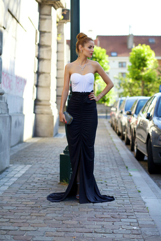 from brussels with love blogger dress clutch classy formal