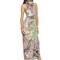 Lurex woven cashmere & silk long dress