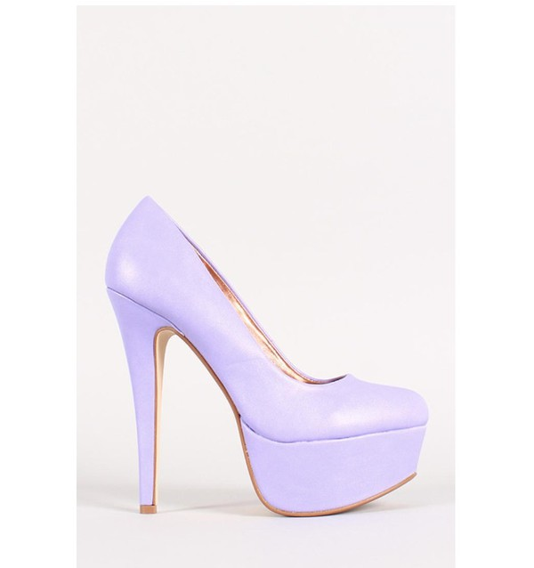 shoes high heels ariana grande purple