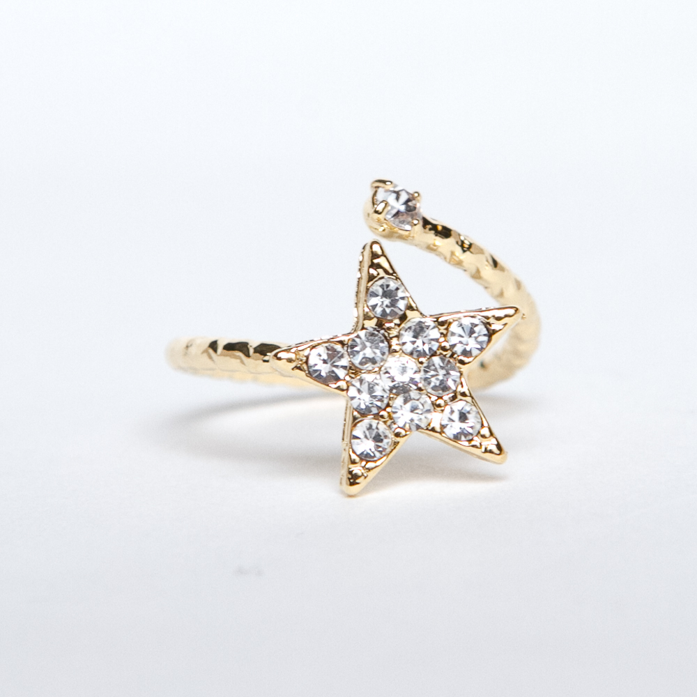 Yu-Neek Culture — Crystal Star Midi Ring
