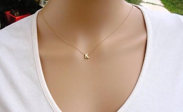 jewels necklace initials