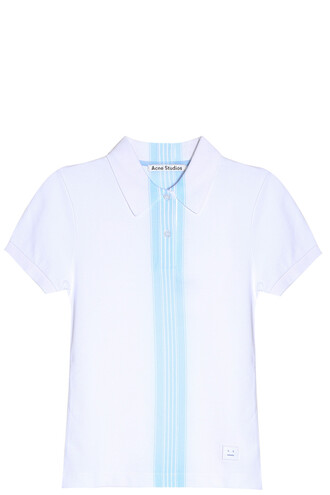 shirt polo shirt white top