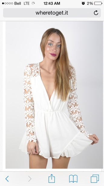 white lace romper long sleeve romper phone cover louis vuitton