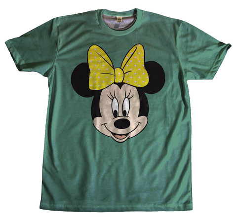 Minnie mouse green wheretoget.it hd tshirt