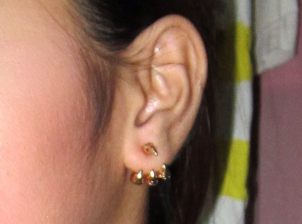 jewels claw gold earrings gold earrings grunge punk goth