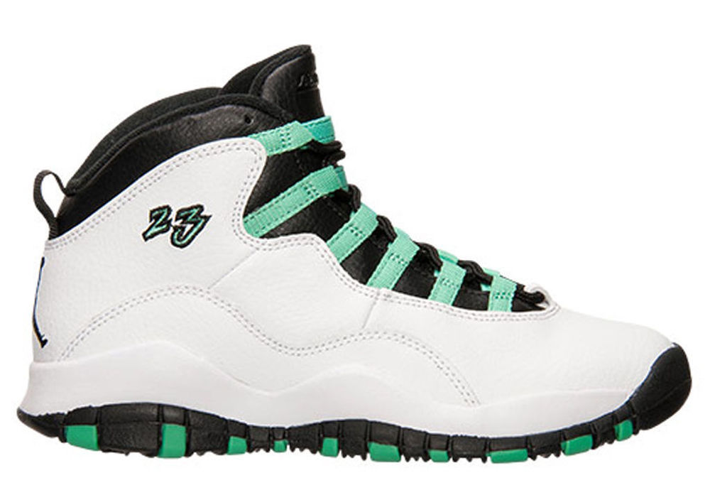 info for e60f7 5f561 best price air jordan retro 10 white black green 800b6 8cda0