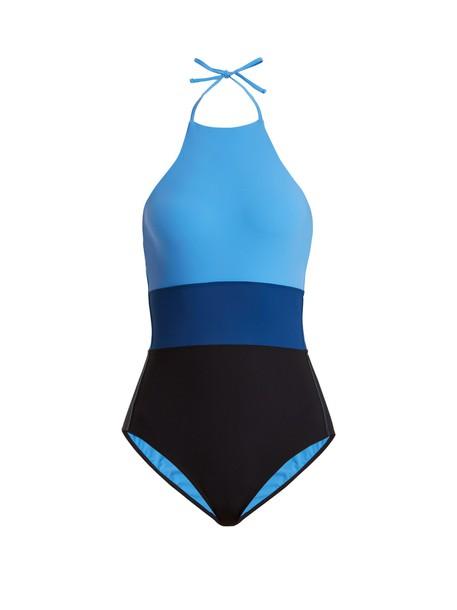 Diane Von Furstenberg blue swimwear