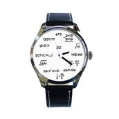 jewels,ziz watch,leather watch,formula watch,designer watch,unique watch,unusual watch,cool watch,ziziztime,black n white,maths watch,watch