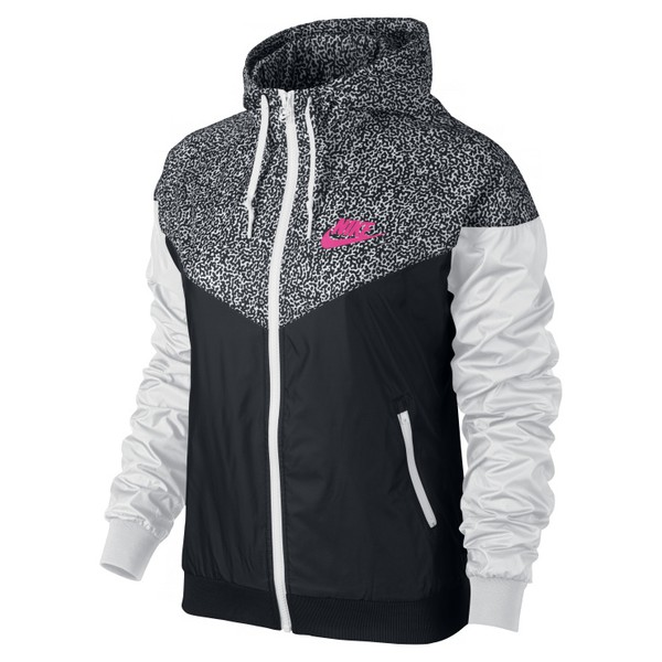 jacket nike sweater nike windbreaker black white pink nike windrunner nike jacket nike sportswear windbreaker