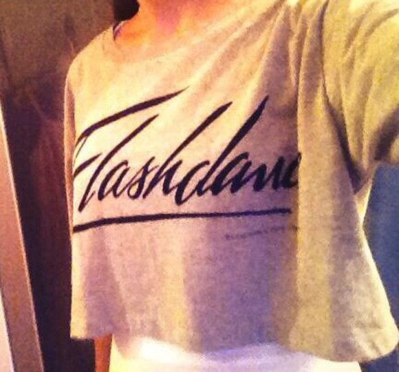 t-shirt flashdance forever 21