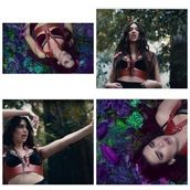 bralette,music video,black,lace lingerie,lace bralette