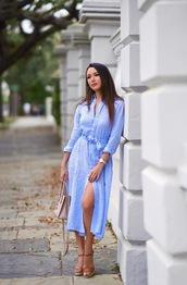 dress,sandal heels,sandals,watch,bag