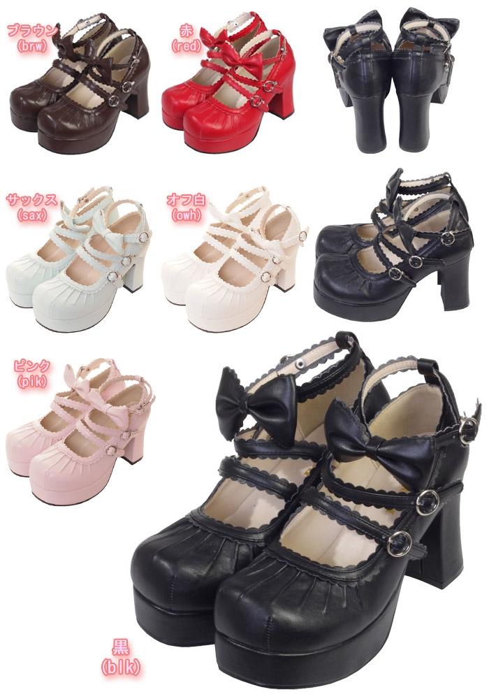 Gothic Lolita shoes193 (shoes193)  [Cosmates]