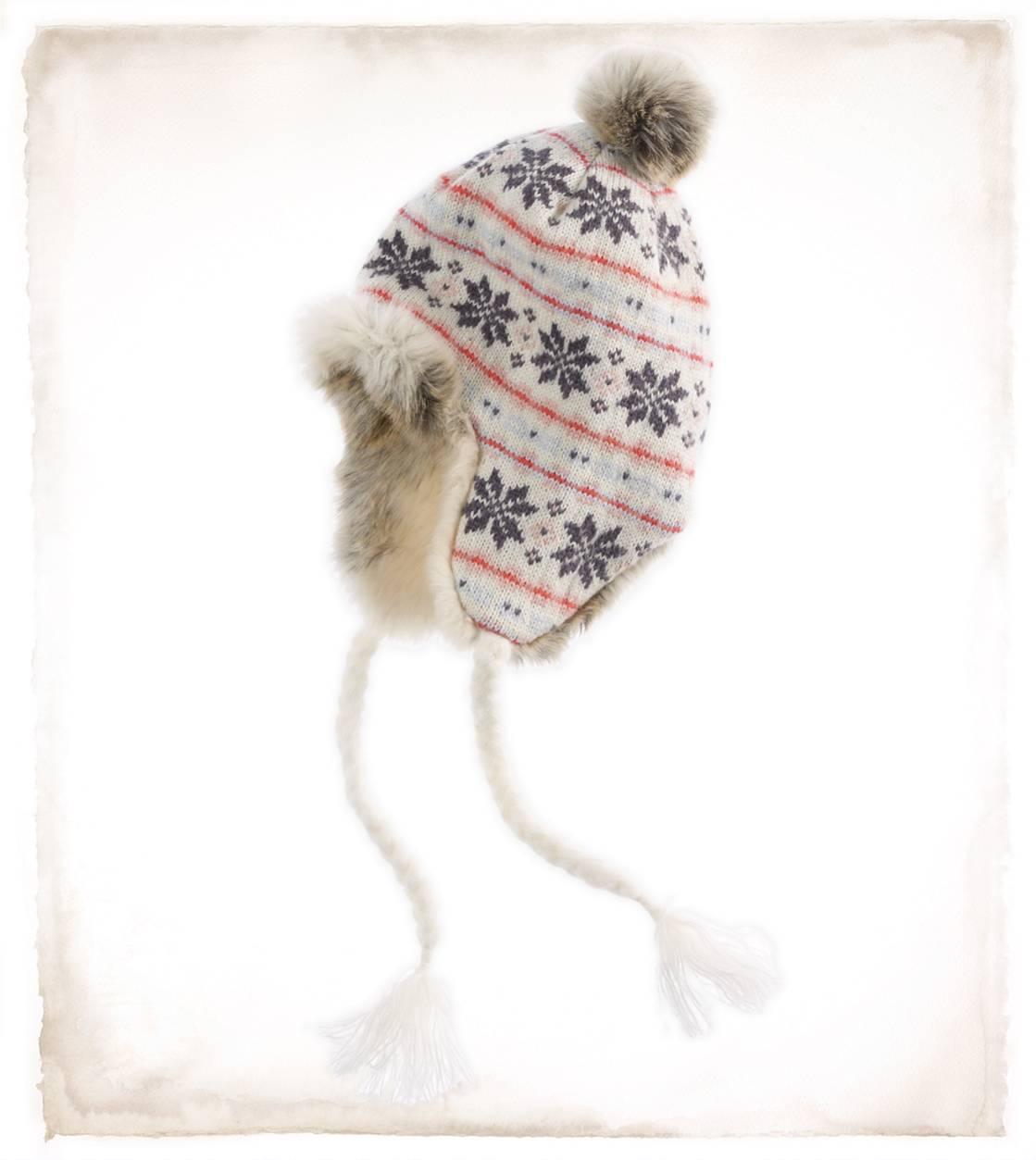 3c9d2cca0 Aerie Snowflake Fair Isle Trapper Hat - Aerie