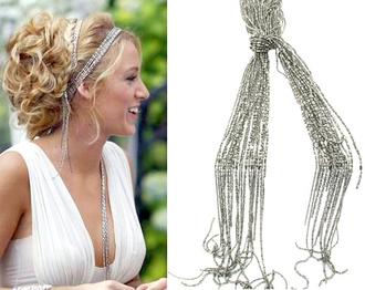 jewels serena van der woodsen hair accessories prom white dress