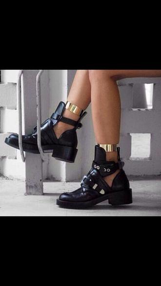 shoes black boots black boots black boots leather