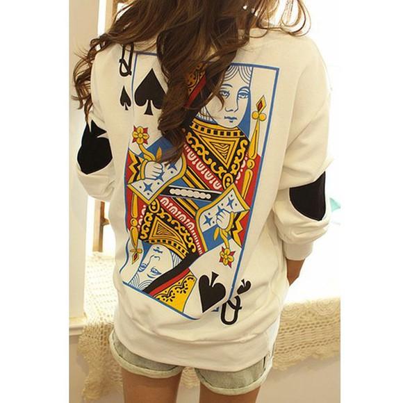 queen sweater