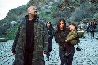 coat kanye west green army jacket mens coat camouflage mens parka