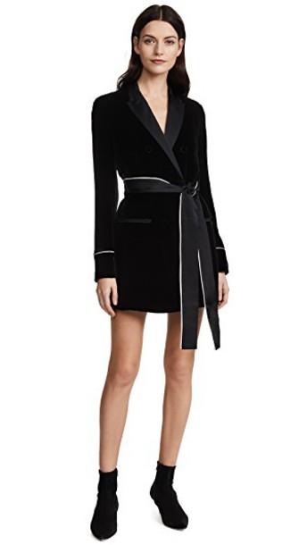 Jason Wu Grey dress shirt dress velvet black
