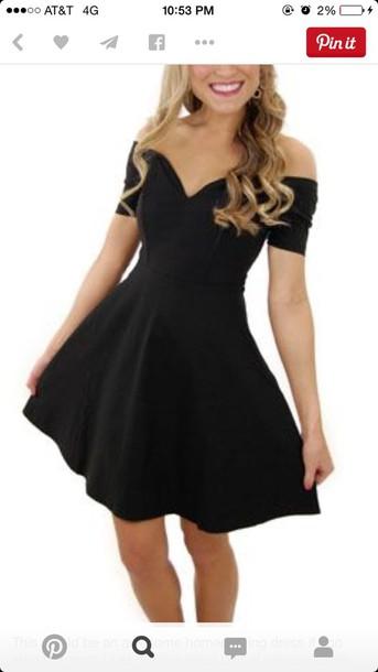 dress black dress formal elegant