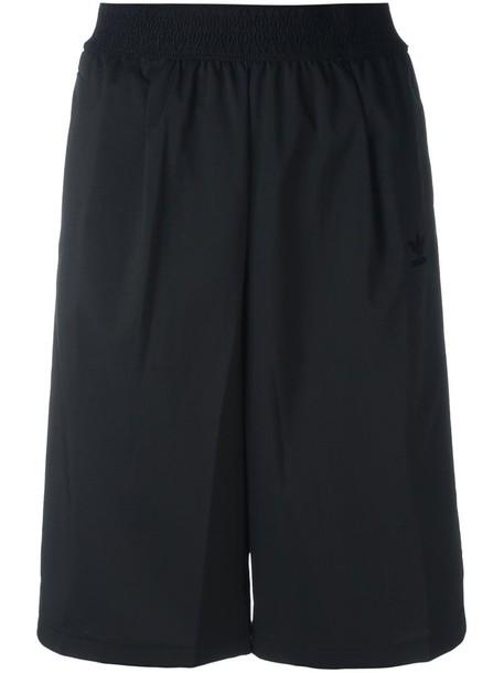 Adidas Originals three stripe knee length shorts, Women's, Size ...