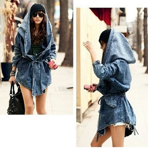 jacket denim big coat stone washed hoodie denim jacket acid wash denim jacket hood cardigan denim parka denim jacket coat denim coat blue jeans jean hoodie denim hoodie jumpsuit jeans jumsuits blue dress casual style fashion denim shirt hooded jacket blue jeans clothes cute trench coat