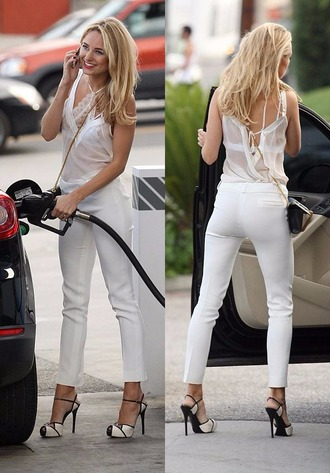 top underwear all white everything kimberley garner sheer bag purse