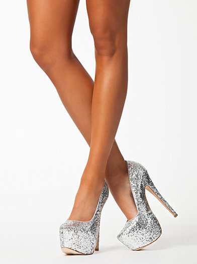 Sleepless Nly Shoes Silver Party Shoes Shoes Women