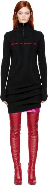 Misbhv dress zip black