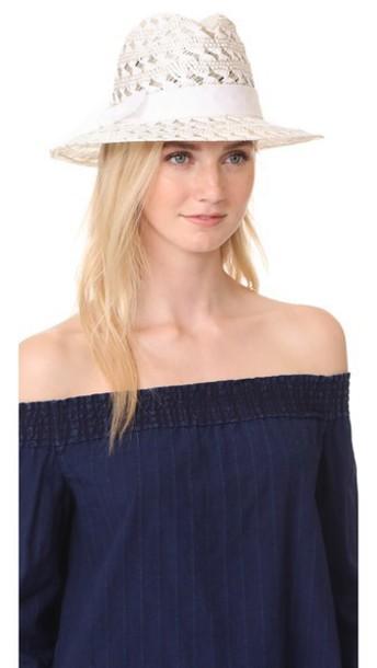 Hat Attack hat fedora white