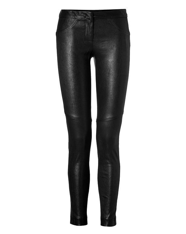 Leather Misa Pants in Black from A.L.C. | Luxury fashion online | STYLEBOP.com